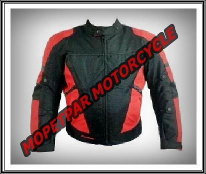 MOTORSİKLET MONTU CUSTOM RACING BEDEN XL (RED-BLACK)
